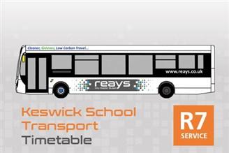 R7 timetable