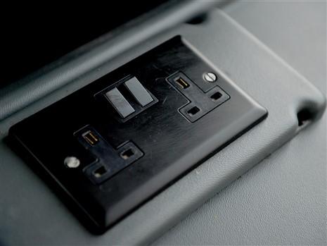 240V charging points