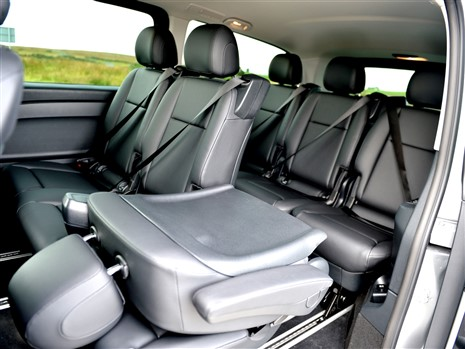 7 full leather seats