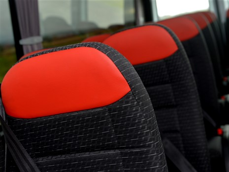 22 leather trimmed seats