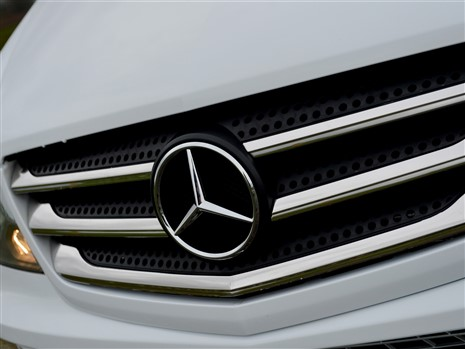 Mercedes 3 pointed star