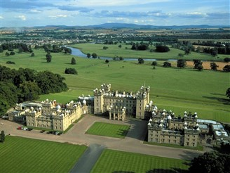 Kelso and Floors Castle